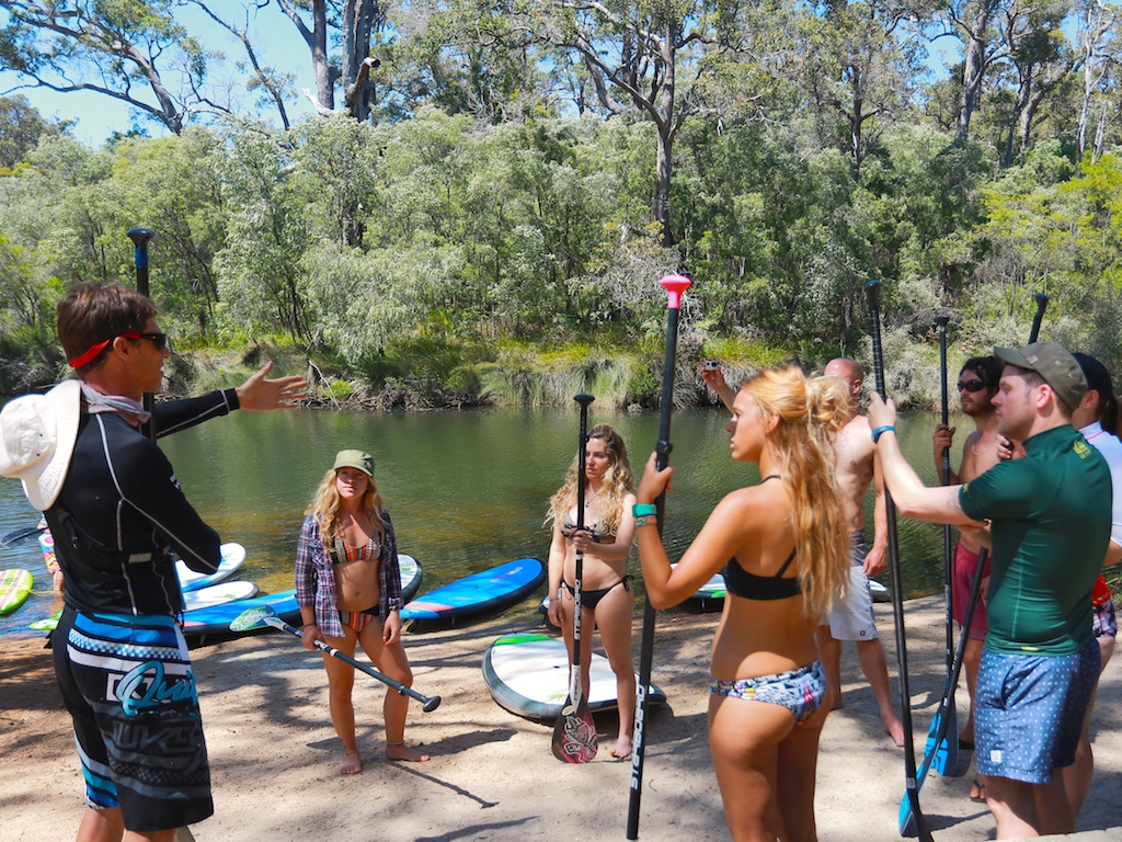 SUP National Park River Tour/Lesson Gift Voucher with Margaret River Stand Up Paddle