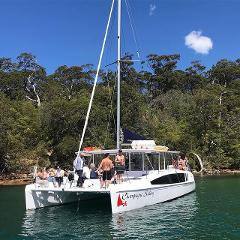 CHAMPAGNE SAILING Catamaran Hire for 31 - 43 guests (COVID Capacity max 43 people)