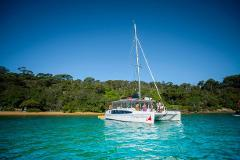 Hen's Party CHAMPAGNE SAILING Catamaran Package for up to 43 people (COVID Capacity max 43 people)