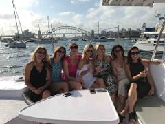 Hen's Party Catamaran Package for up to 30 people