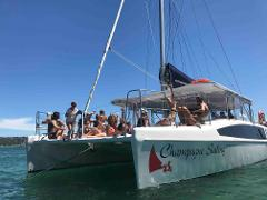 CHAMPAGNE SAILING  Catamaran hire for up to 30 guests