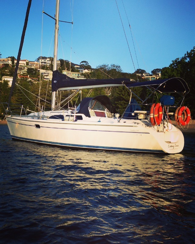 Sydney Harbour Yacht Hire - Cutting Loose  (up to 7 people)