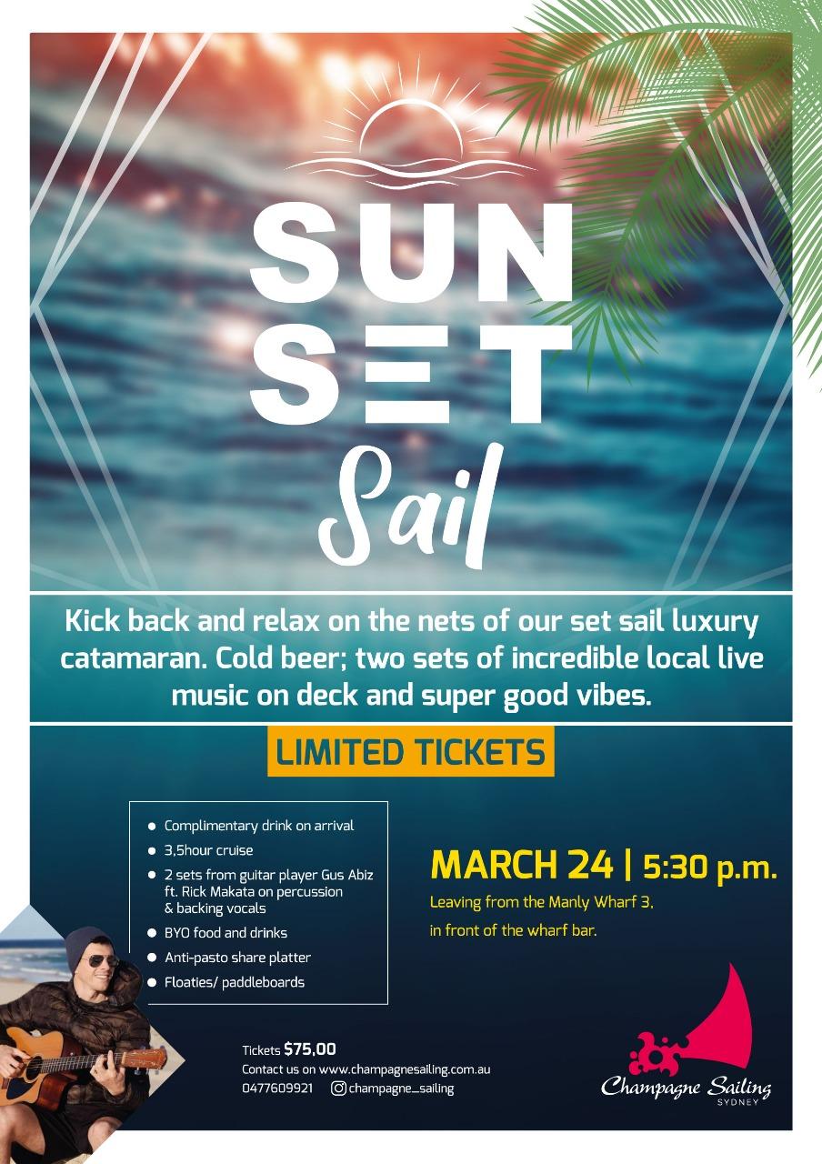 Sun. Set. Sail