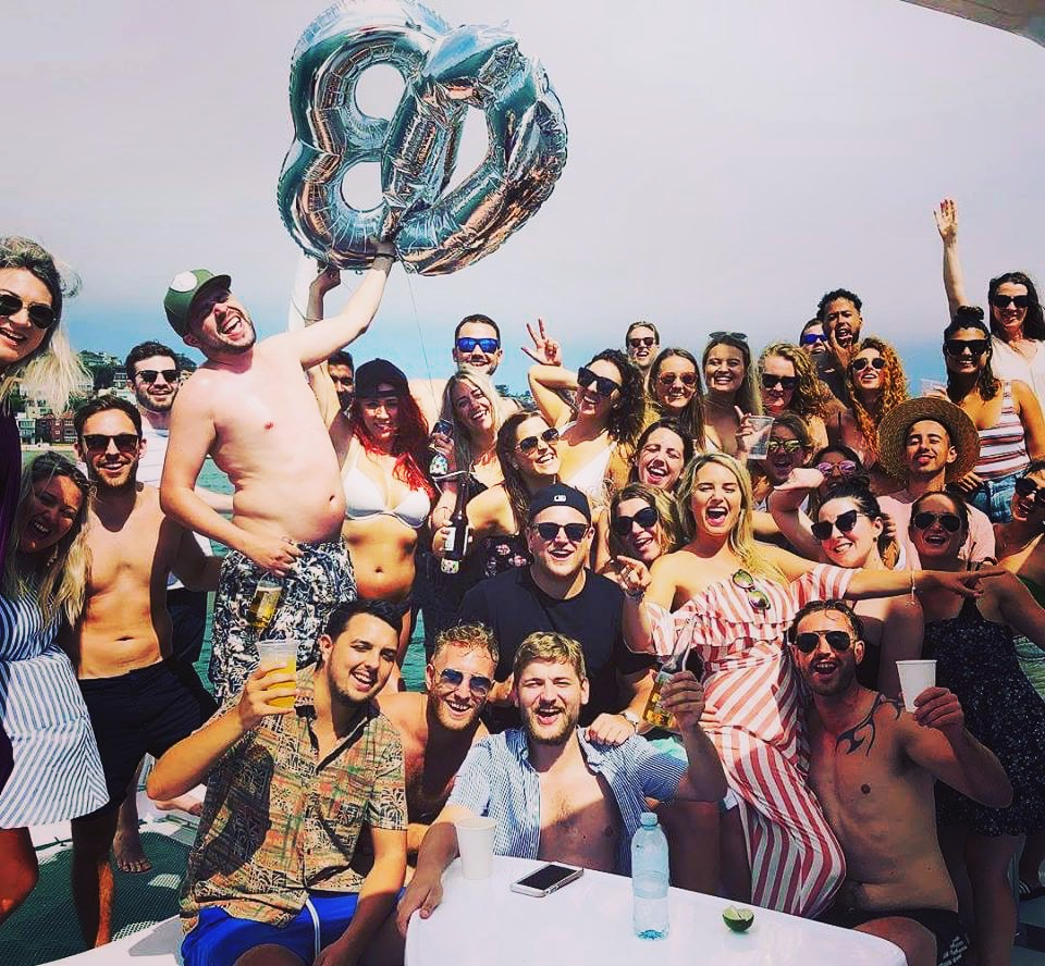 Birthday Party Catamaran Package for up to 43 people