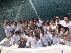 Christmas Party Catamaran Package for up to 43 people