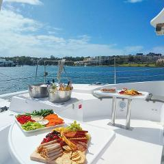 Christmas Party CHAMPAGNE SAILING Catamaran Package for up to 43 people