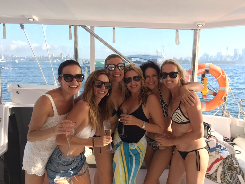 Hen's Party Catamaran Package for up to 43 people