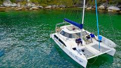 Buck's Party Seawind Catamaran Package for up to 20 people (max COVID capacity 20 pax)