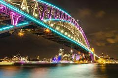 Vivid Sydney Small Group Catamaran Cruise on Enigma X