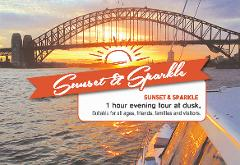 SUNSET & SPARKLE - Boarding at Circular Quay