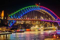 Vivid Sydney Intimate Catamaran Cruise on Fleetwing II