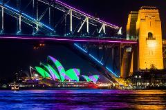 Vivid Sydney BYO Catamaran Cruise on Nevaeh