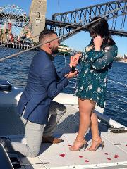 Harbour Romance Sunset Cruise For Two with Seafood Dinner