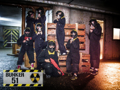 Junior SplatMaster Paintball - Alpha Party Package