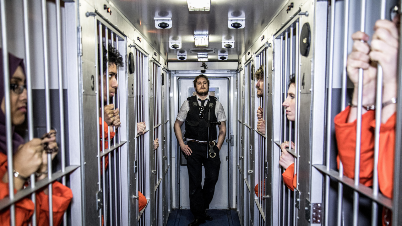 Gift Card: 1 x Trapped in a Prison Van ticket