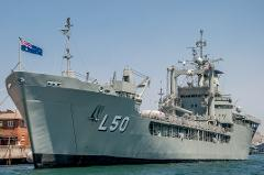 Ex-HMAS Tobruk Scuttling Cruise