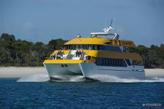 Kingfisher Bay Fraser Island Fast Cat Transfer (Private Charter)