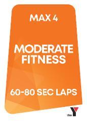 Peak Time - Moderate Fitness Lane