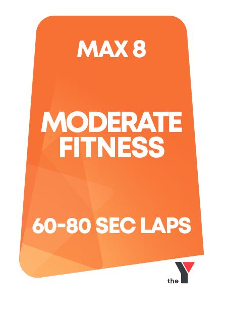 Lane 2: Peak Time - Moderate Fitness Lane