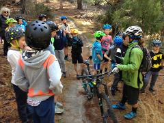 Fundamental Program - School Holiday Kids Mountain Bike Trail Skills