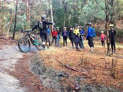 Intermediate Level Program - School Holiday Kids Mountain Bike Trail Skills