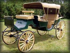 Vis-A-Vis Carriage (Seats 6 Adults) Ozark Village