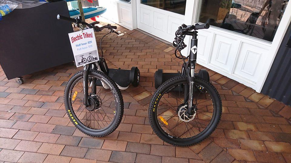 DC-TRI Electric Bike Hire