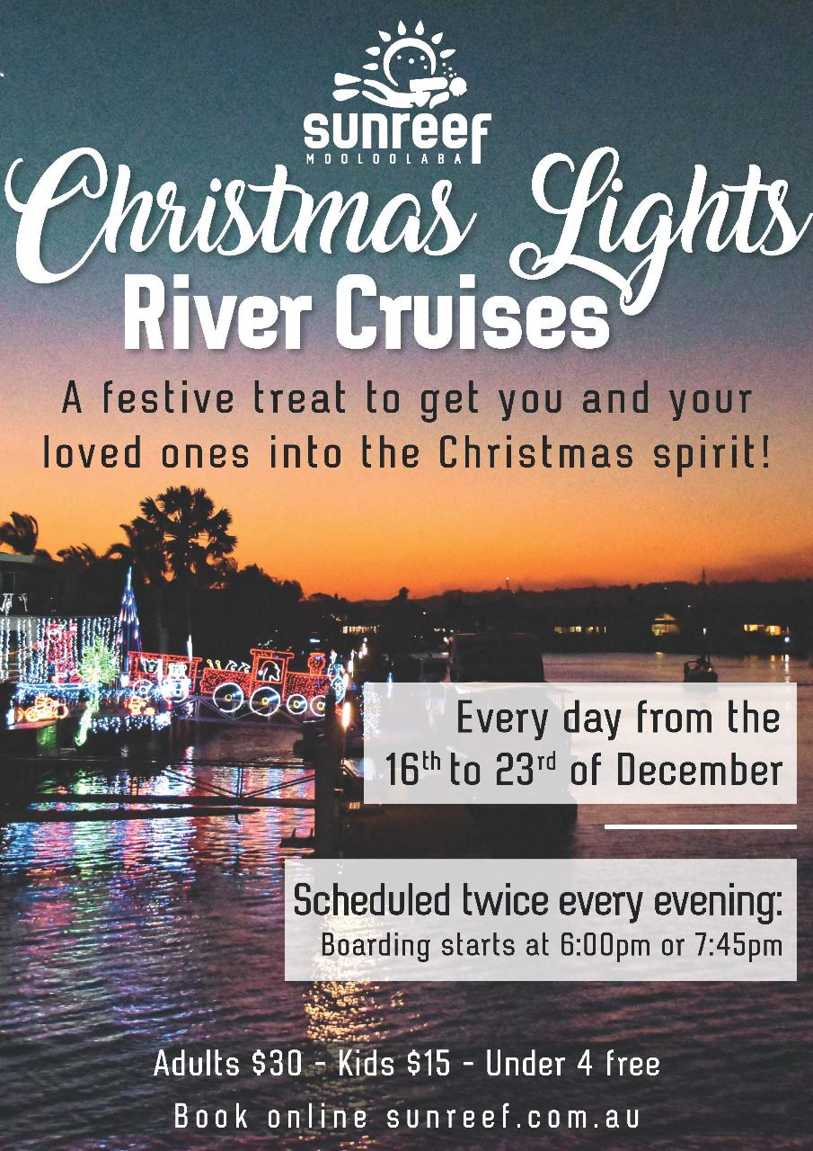 Christmas Lights River Cruise