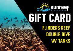 Gift Card Flinders Reef Double Dive w/ Tanks