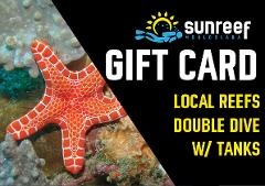 Gift Card Local Reefs Double Dive w/ Tanks
