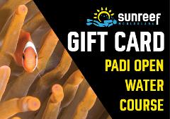 Gift Card PADI Open Water Course