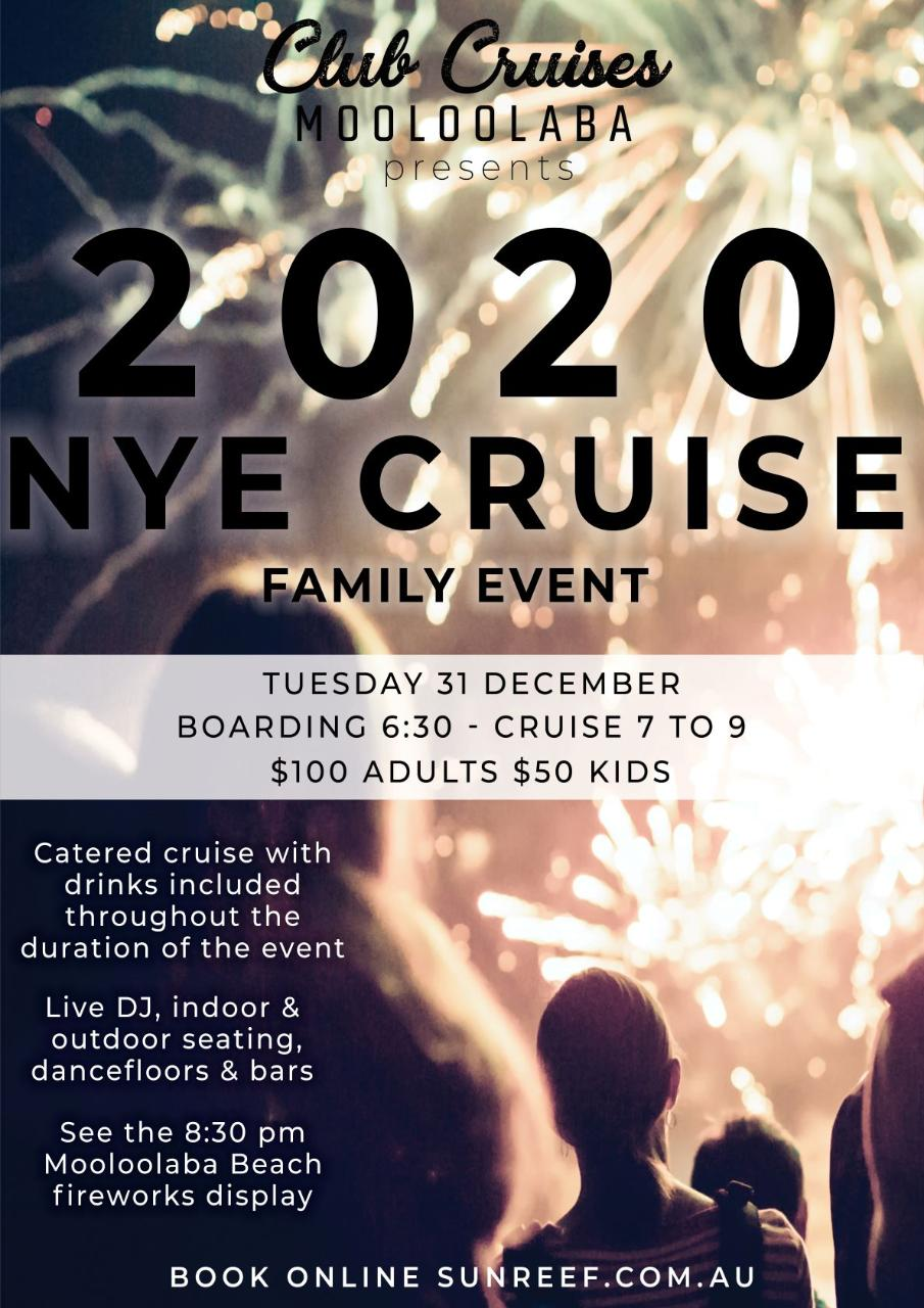 New Year's Eve Cruise on Whale One (8:30pm Fireworks)
