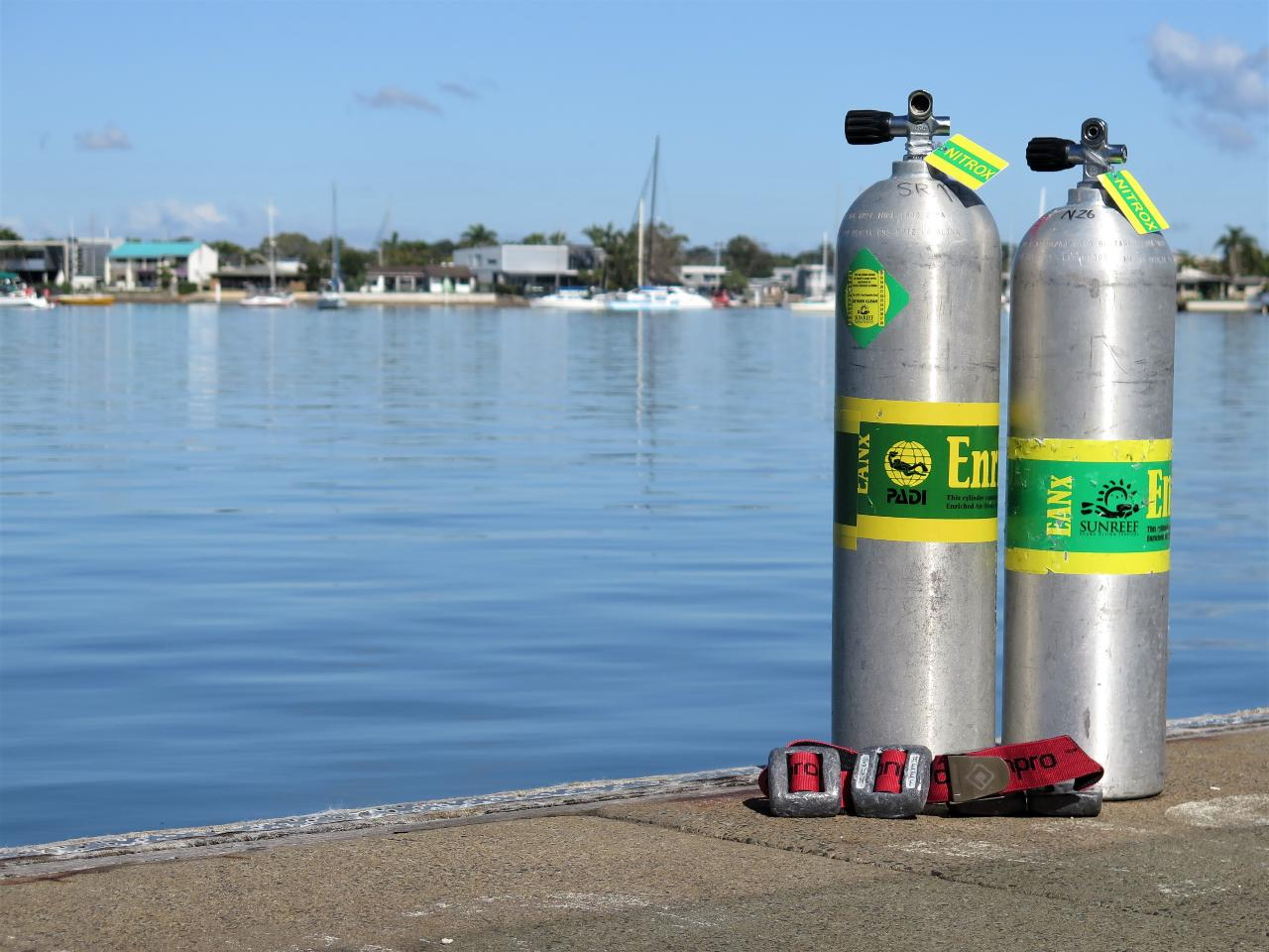 PADI Enriched Air Nitrox Course on the Ex-HMAS Brisbane (includes Tanks)