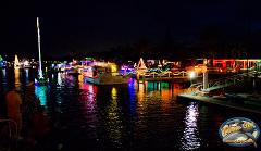 Christmas Boat Parade on Wild One
