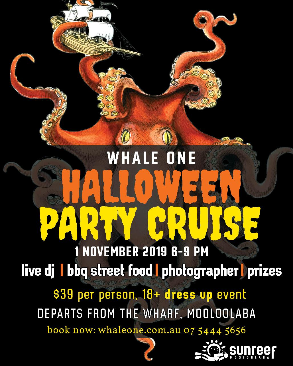 Halloween Party Cruise on Whale One