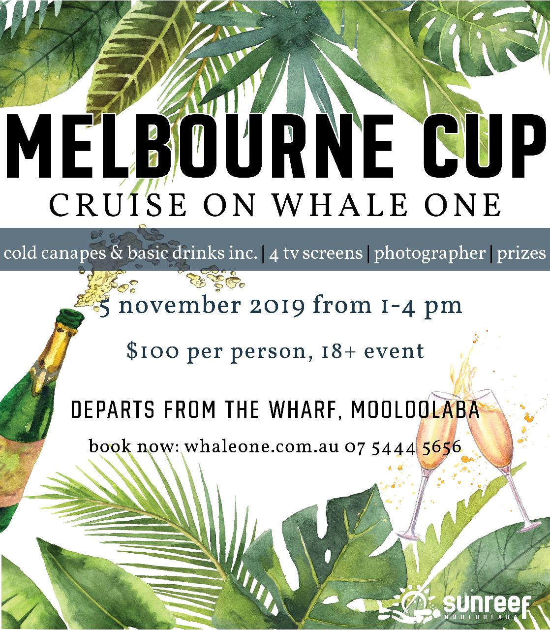 Melbourne Cup Cruise on Whale One