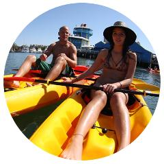 Overnight Kayak Hire
