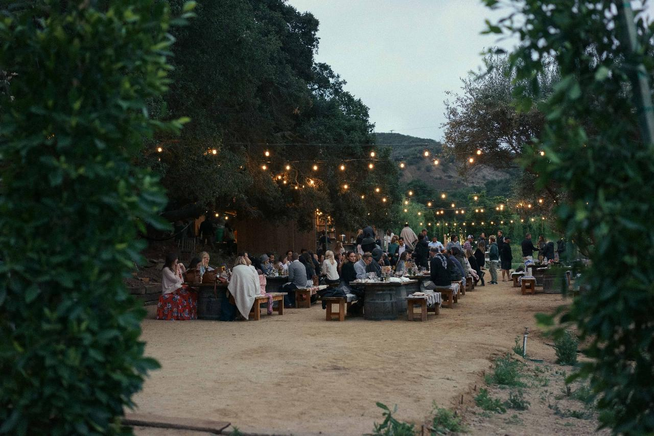 SADDLEROCK ORGANIC FARM DINNER