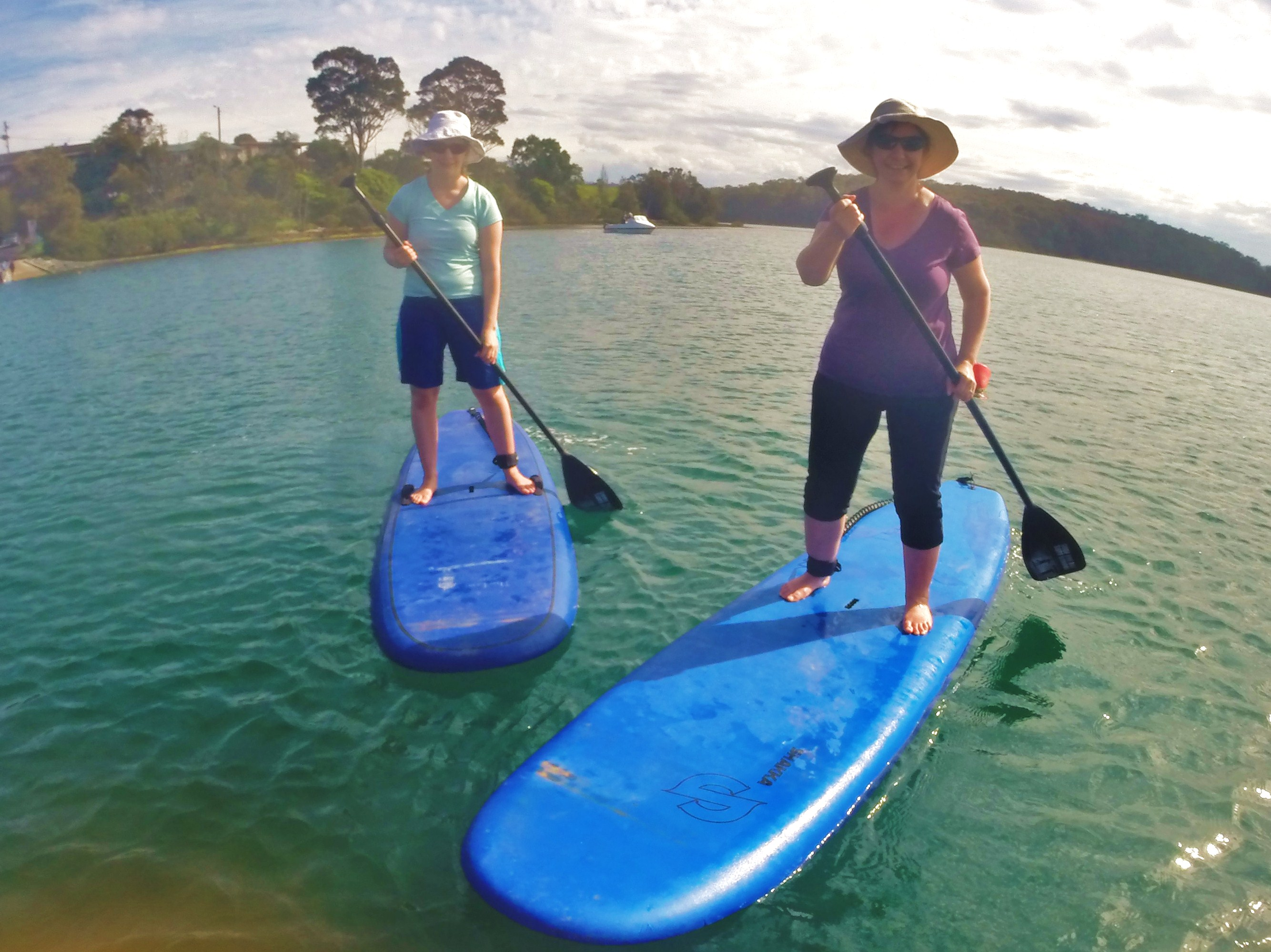 Group Stand Up Paddle Board Lesson (Narooma)