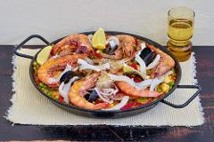 Spanish - with canapés