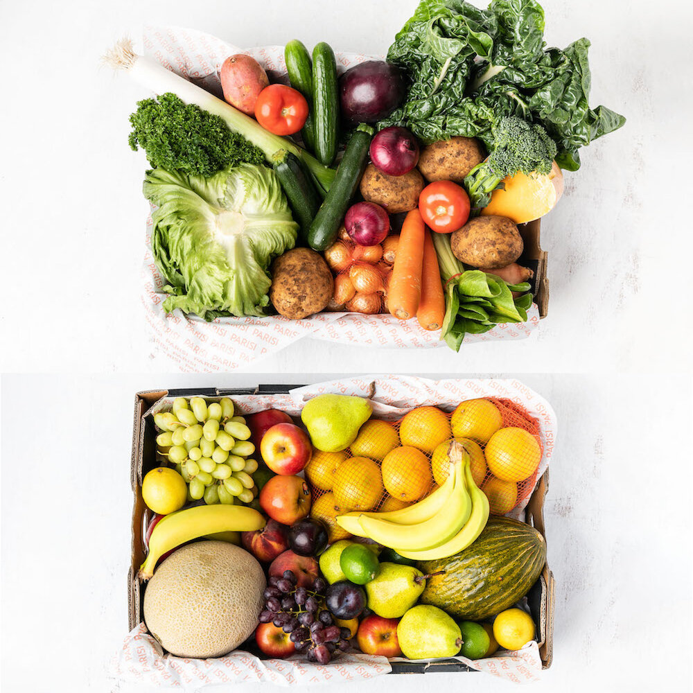Parisi Fruit & Veg Boxes - ADD ON ONLY - Sydney Seafood School Reservations
