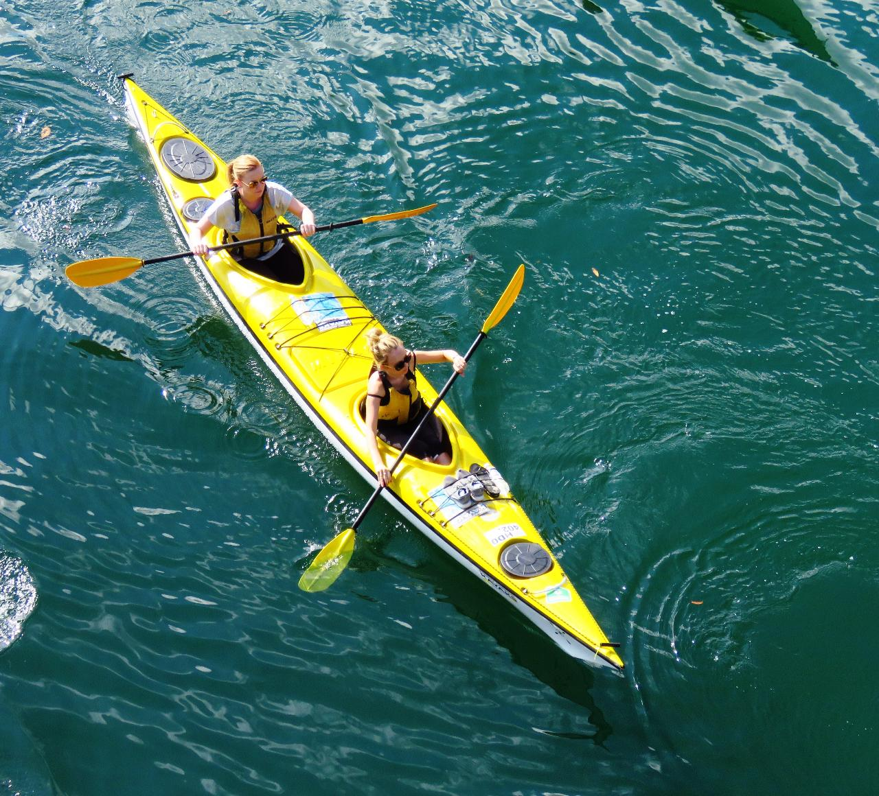 Annual ONE HOUR DOUBLE KAYAK Rental Pass