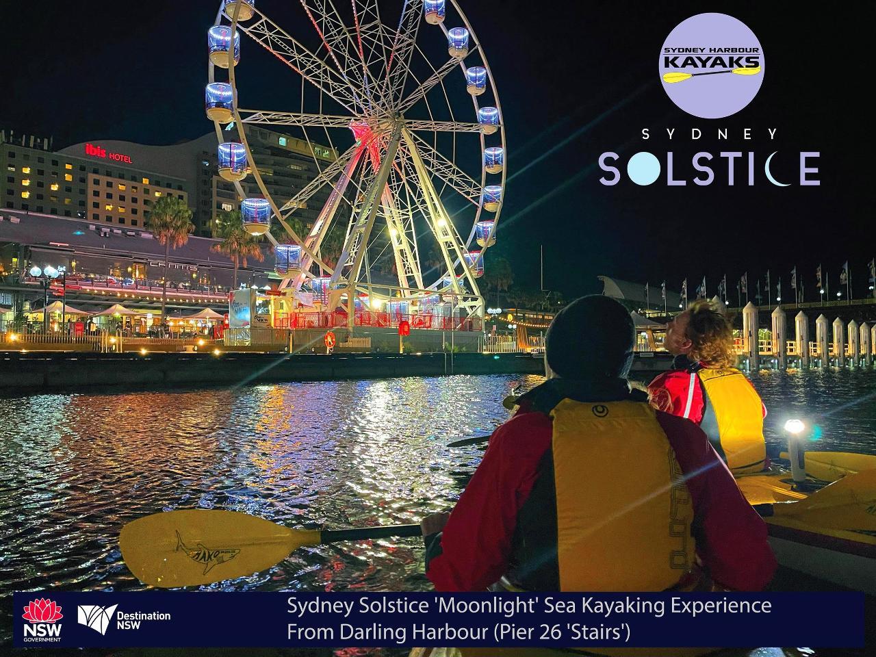 Sydney Solstice 'Moonlight' Sea Kayaking Experience (Darling Harbour, Sydney)