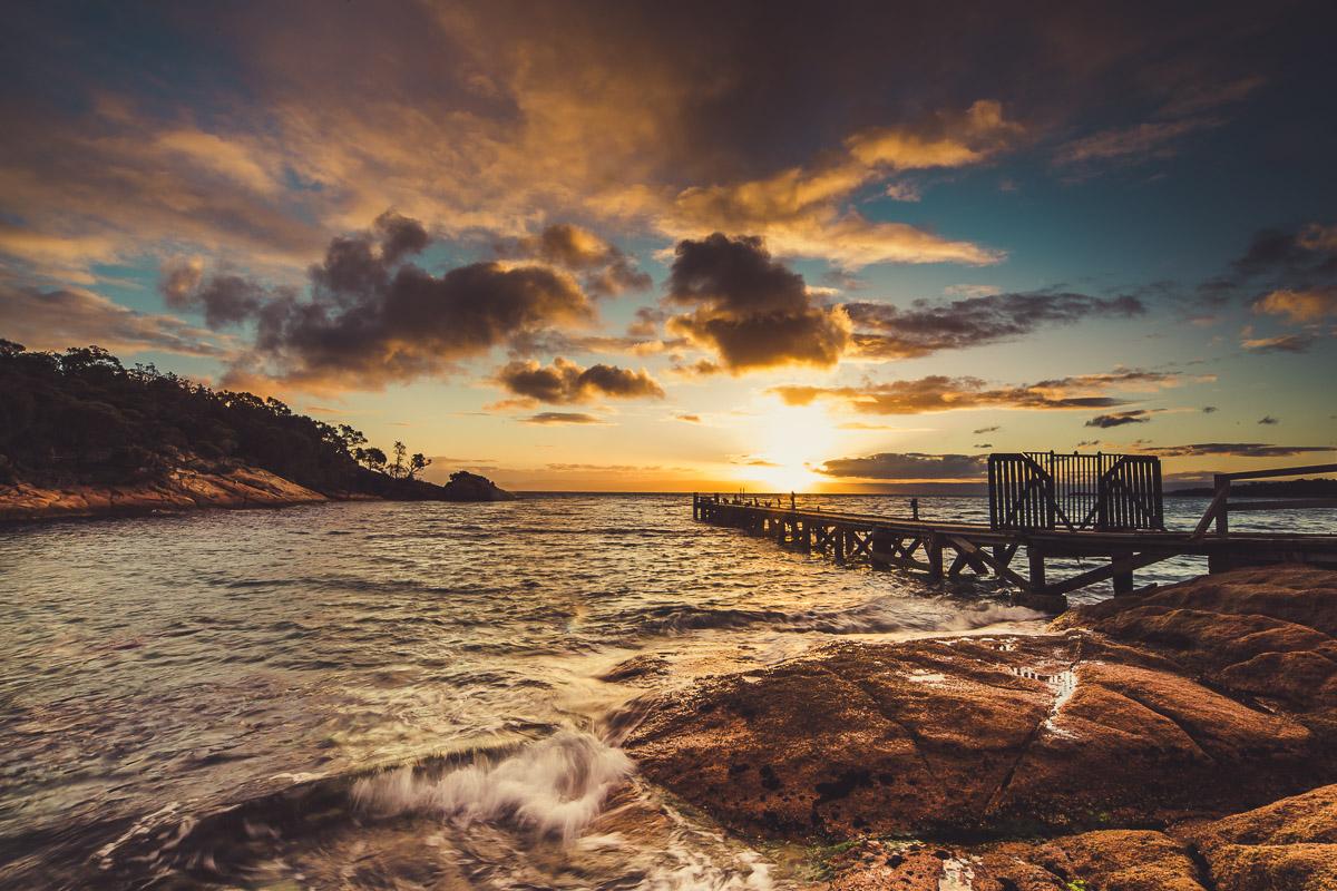 North East South Tasmania - April