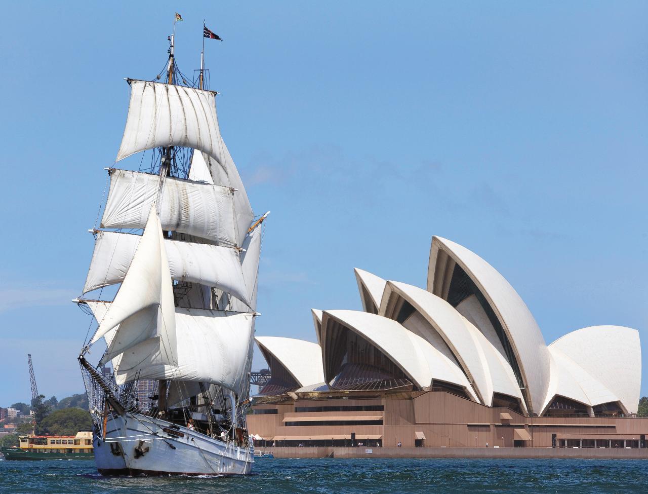Australia Day - Tall Ships Dinner and Fireworks - Soren Larsen