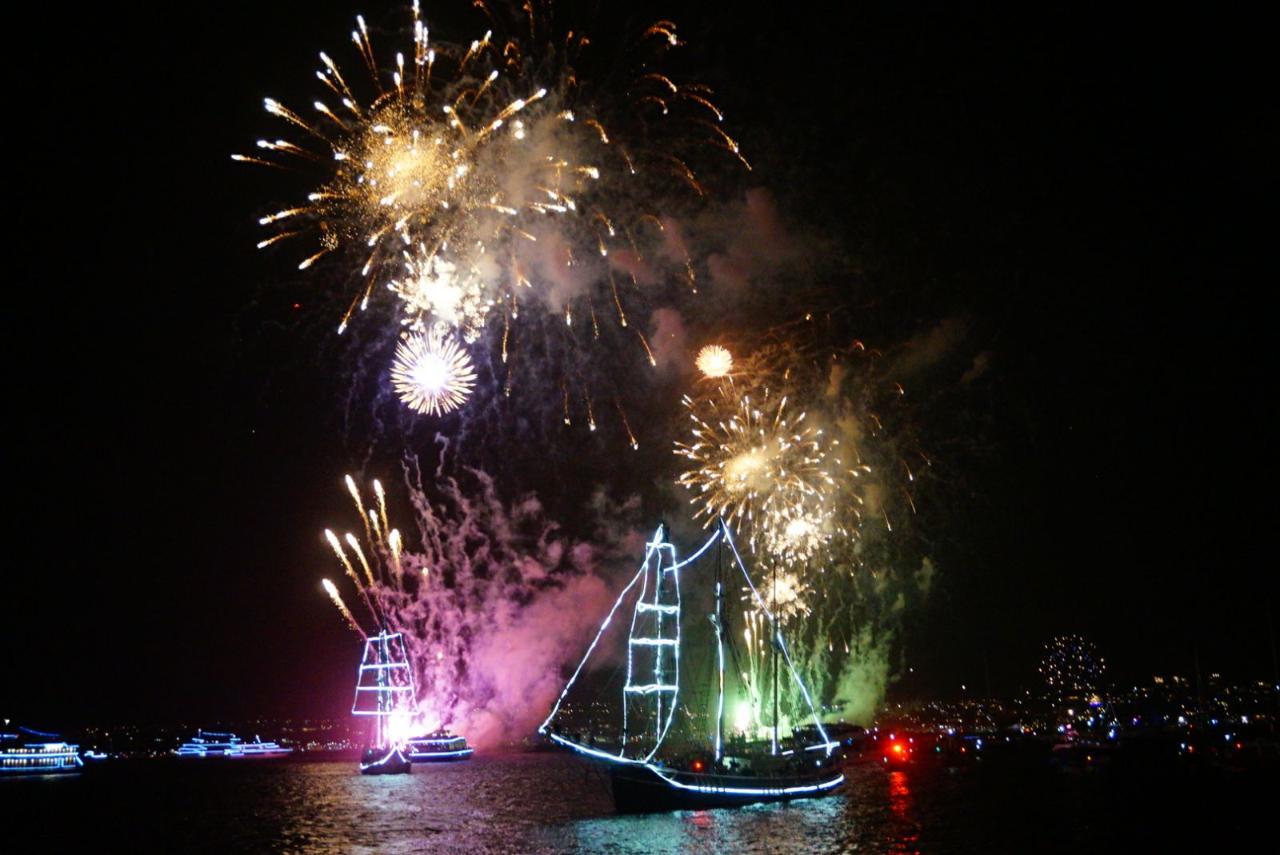 Sydney New Year's Eve Cruise - Soren Larsen