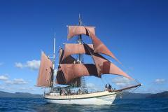 Coral Trekker in Port Macquarie (Hourly Sail)
