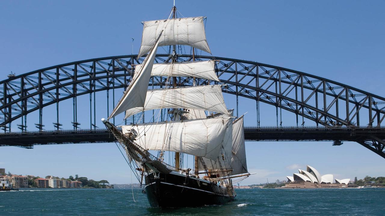 Australia Day - Tall Ships Race - Southern Swan
