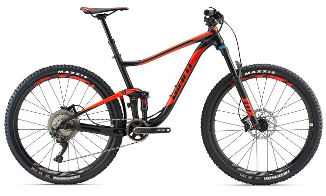 Bike Hire - Giant Anthem Dual Suspension MTB - (Large) - Per Day