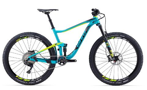 Bike Hire - Giant Anthem SX Dual Suspension MTB - (Medium) - Per Day
